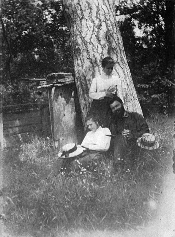 Іван Денисюк та ін. - У Запрудді, 1900…